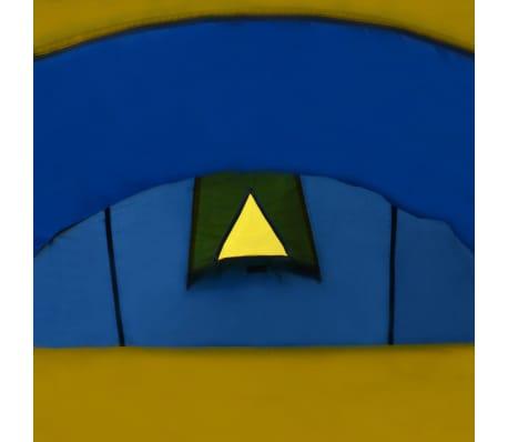 Tienda De Campaña 4 Personas Azul Marino / Amarillo[6/10]