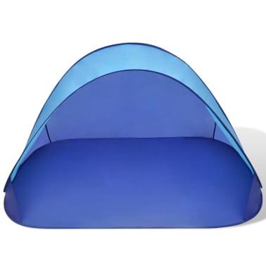 Außen Strandzelt Zelt wasserdicht Sonnendach Hellblau[3/3]