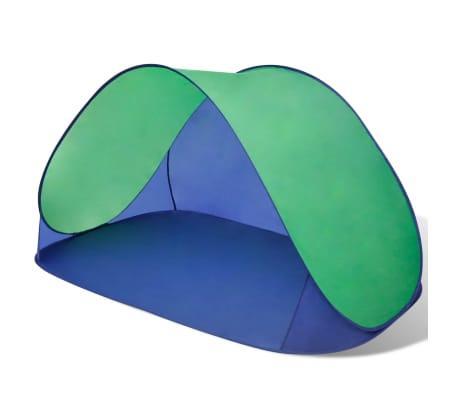 Składany namiot plażowy wodoodporny zielony[1/3]