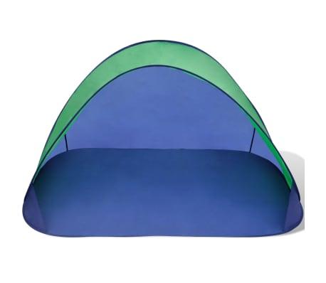 Składany namiot plażowy wodoodporny zielony[3/3]