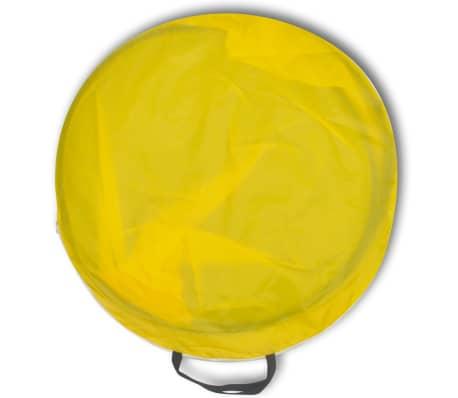 Šotor senčnik za na plažo vodoodporen rumene barve[2/3]