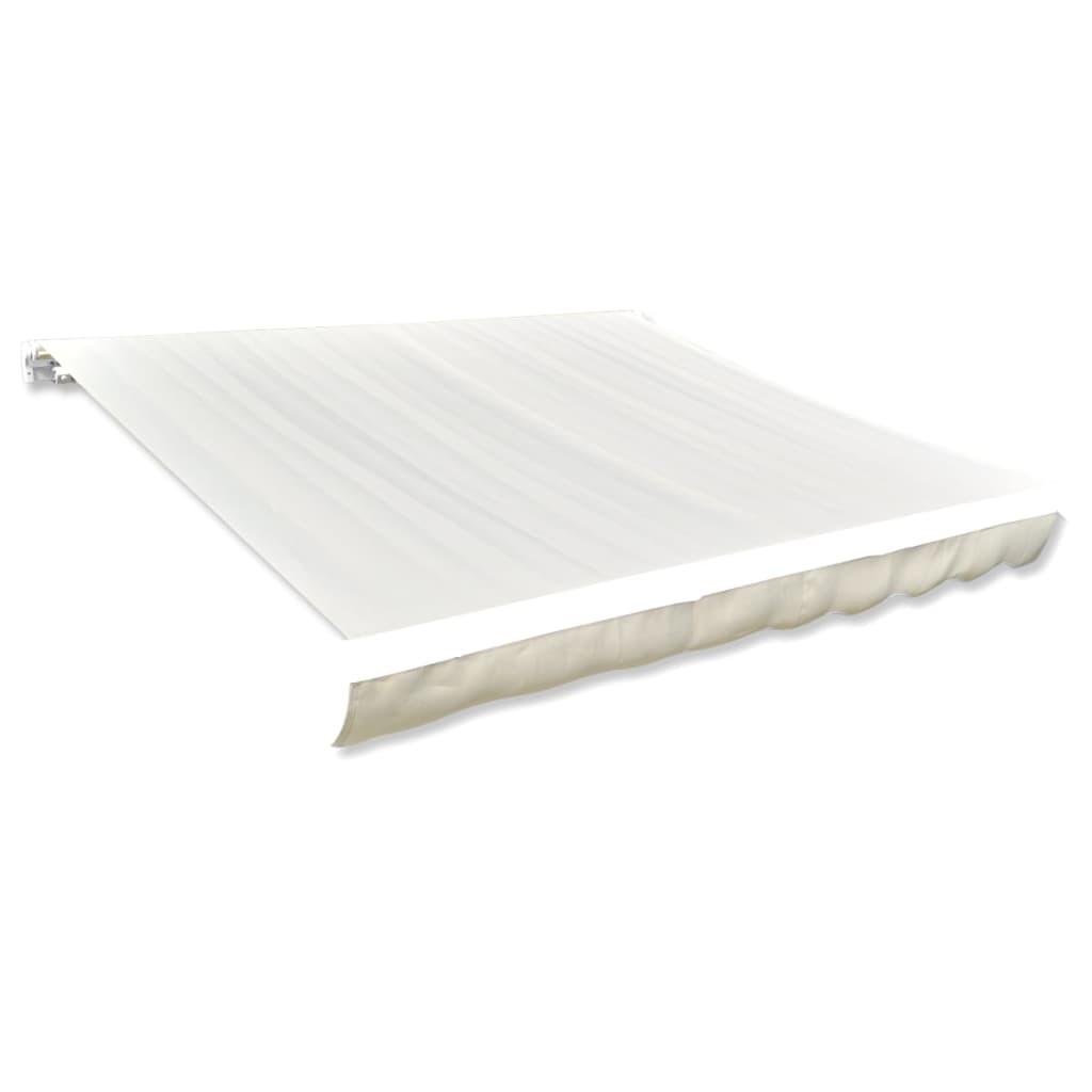 Canvas zonnescherm met luifel 4 x 3 m (cr