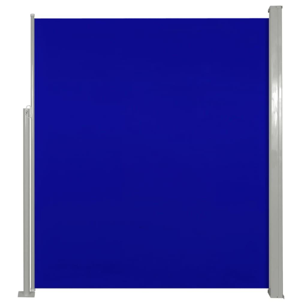 Σκίαστρο Πλαϊνό Συρόμενο Βεράντας Μπλε 160 x 300 εκ.