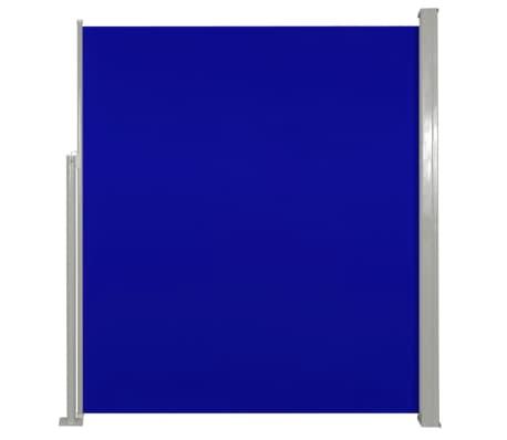 Σκίαστρο Βεράντας Πλαϊνό Συρόμενο Μπλε 160 x 300 εκ.