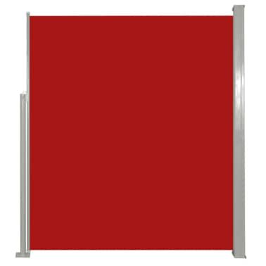 vidaXL Infällbar markis för uteplats 160 x 300 cm röd[2/6]