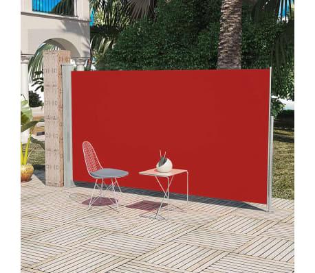 vidaXL Infällbar markis för uteplats 160 x 300 cm röd[1/6]