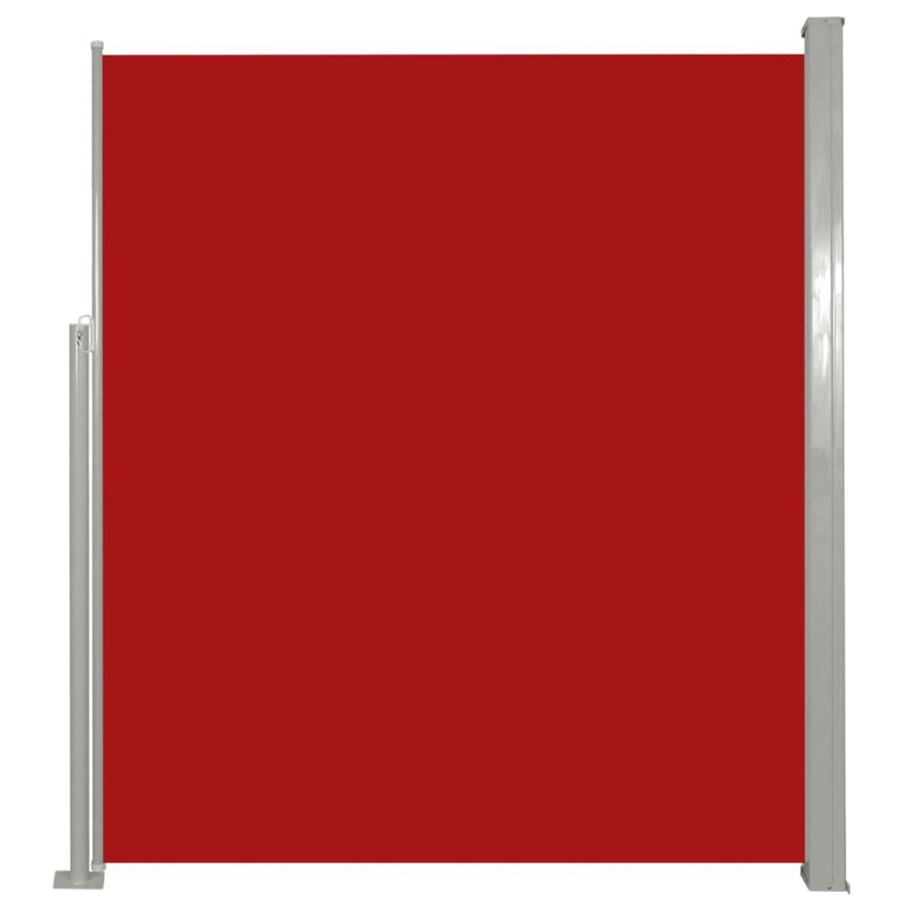 Σκίαστρο Πλαϊνό Συρόμενο Βεράντας Κόκκινο 180 x 300 εκ.