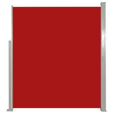 Terrassenmarkise Seitenmarkise 180 x 300 cm Rot[2/6]