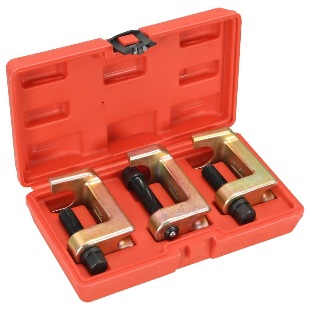 Set extractor separator rulmenți 3 piese imagine vidaxl.ro