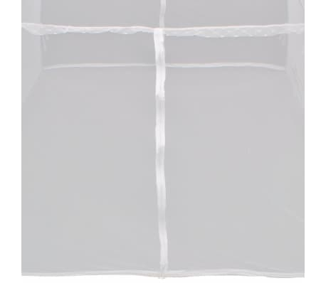 Mongolei Netz Moskitonetz 2 Türen 200 x 120 x 130 cm weiß[7/8]