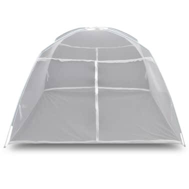 Mongolia Net Mosquito Net 2 Doors 200 x 120 x 130 cm White[4/8]