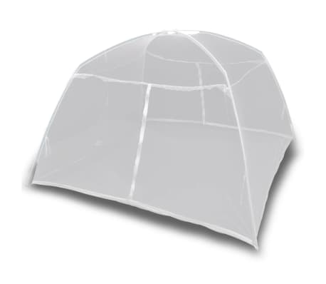 """Mongolia Net Mosquito Net 2 Doors 6' 7"""" x 4' 11"""" x 4' 9"""" White[3/8]"""