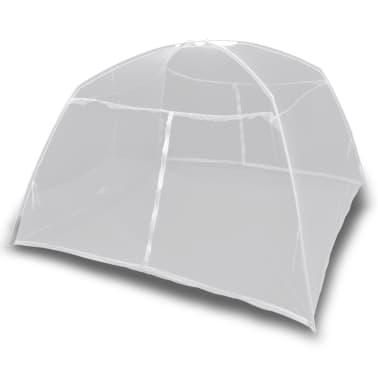 Mongolia Net Mosquito Net 2 Doors 200 x 180 x 150 cm White[3/8]