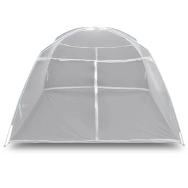 Mongolia Net Mosquito Net 2 Doors 200 x 180 x 150 cm White[4/8]