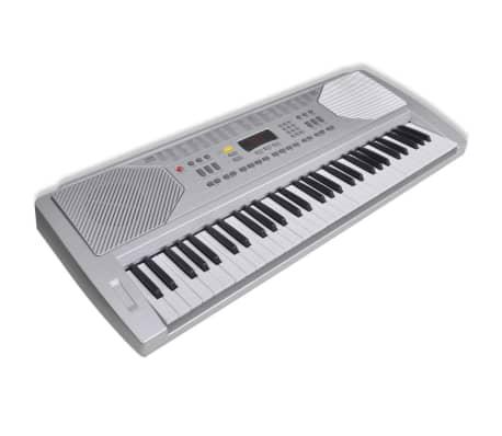 acheter clavier piano electrique avec 61 touches avec stand pas cher. Black Bedroom Furniture Sets. Home Design Ideas