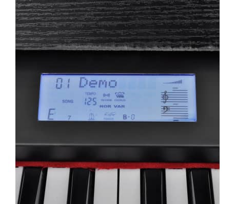 Classic Electronic Piano Digital Piano with 88 keys & Music Stand[7/9]