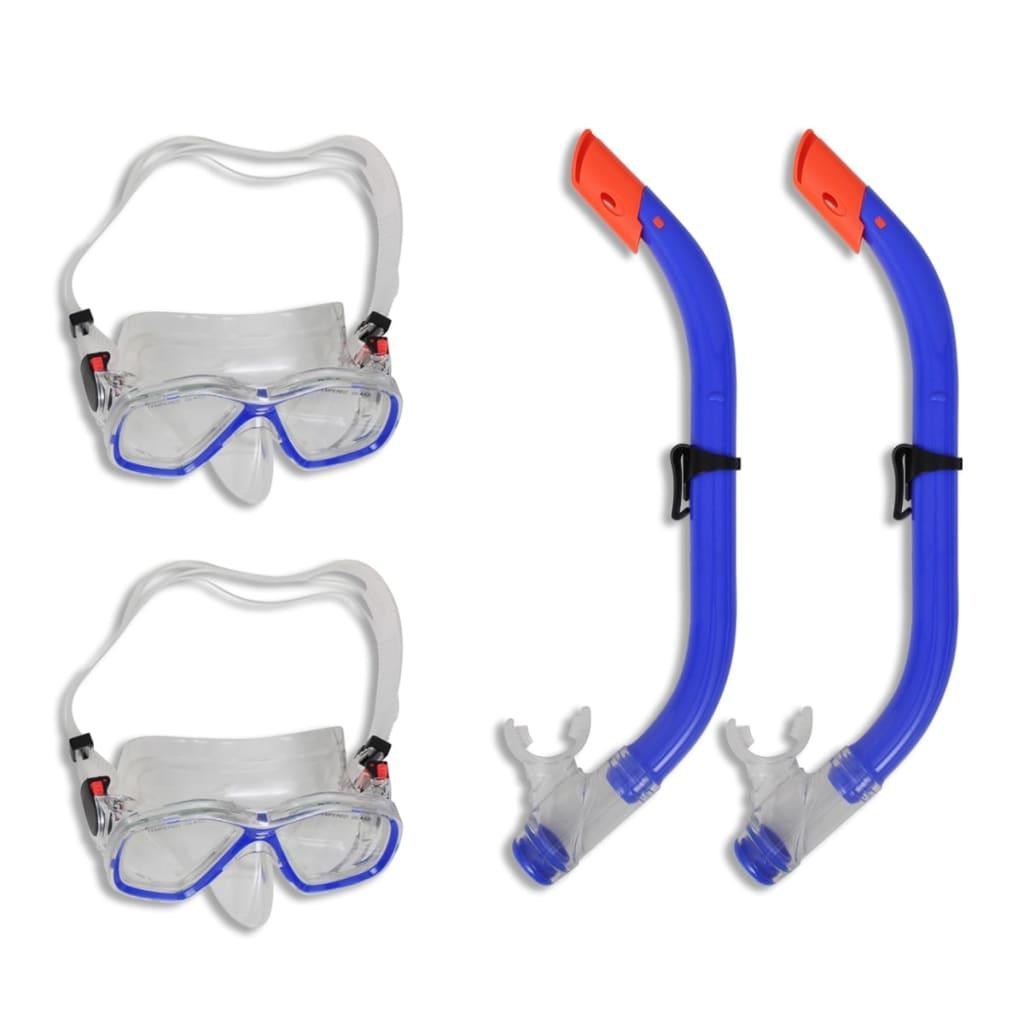 Set pentru scufundări și snorkeling pentru copii 2 seturi poza 2021 vidaXL