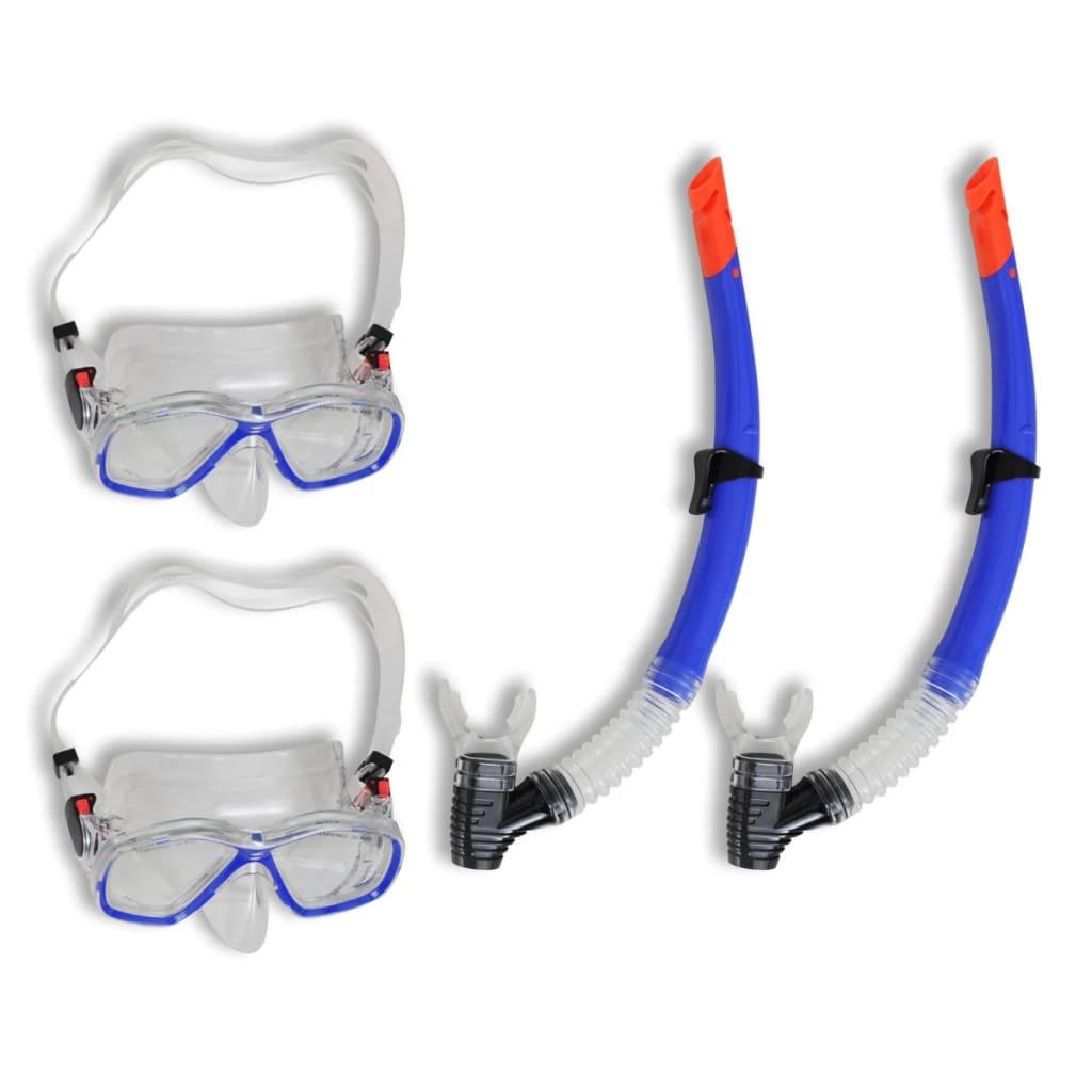 Set pentru scufundări și snorkeling pentru adulți 2 seturi vidaxl.ro