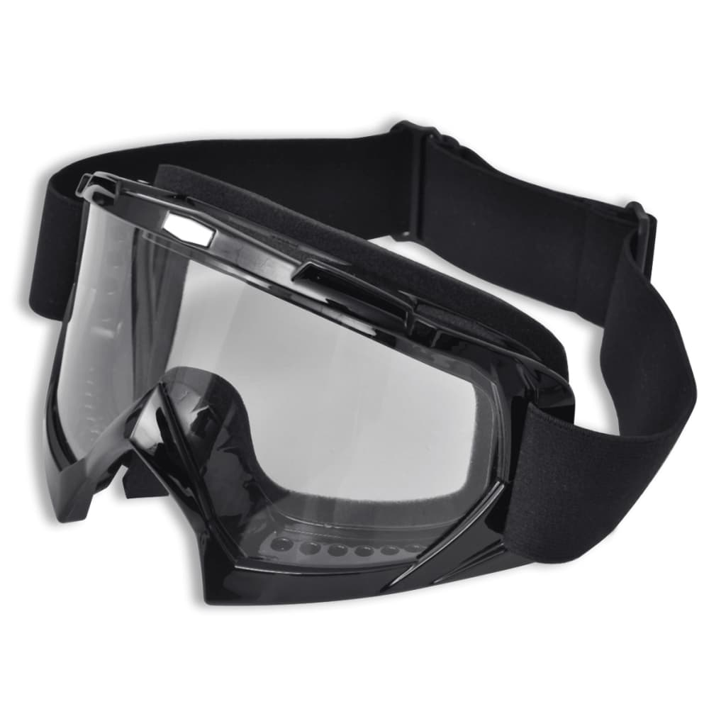 Ochelari de protecție moto motocross cu vizor transparent poza vidaxl.ro