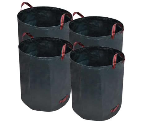 Sacco da giardino per rifiuti verde scuro 4 pezzi 272 L 150 g/sqm[1/5]