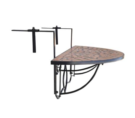 Klapptisch Balkontisch Hängetisch Balkonhängetisch Mosaik A[2/6]