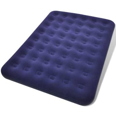 Acheter matelas lit gonflable floqu avec pompe et oreillers pas cher - Matelas gonflable avec pompe ...