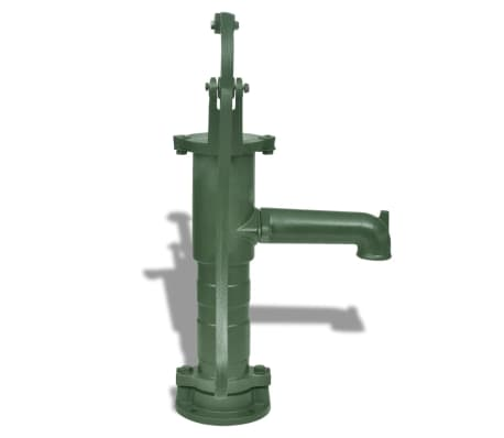 vidaXL Garden Hand Water Pump Cast Iron[3/6]