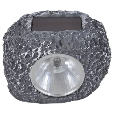 vidaXL Faretto Solare Esterno con LED Forma Pietra 12 pz[3/3]