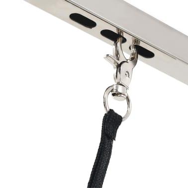 vidaXL vaske/trimmebord til kæledyr justérbart med sele[5/6]