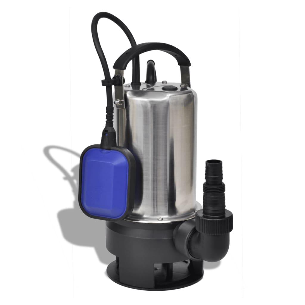 Afbeelding van vidaXL Elektrische afvalwater tuinpomp 1100 Watt