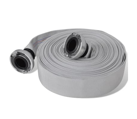 vidaXL Fire Flat Hose 20 m with C-Storz Couplings 2 Inch[1/4]