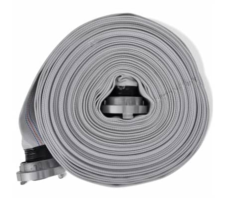 vidaXL Fire Hose Flat Hose 30 m with C-Storz Couplings 2 Inch[2/4]