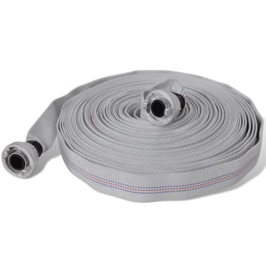 vidaXL Fire Flat Hose 20 m with D-Storz Couplings 1 Inch[1/4]