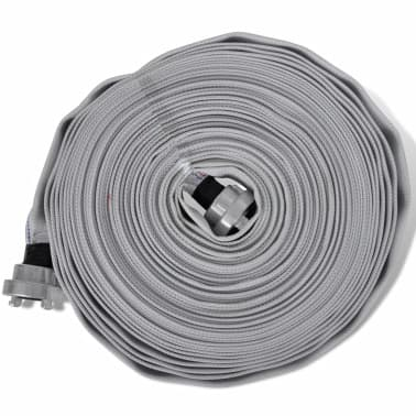 vidaXL Fire Flat Hose 20 m with D-Storz Couplings 1 Inch[2/4]