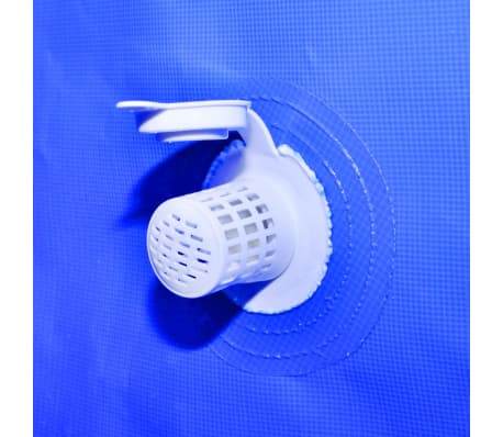 "Above Ground Swimming Pool Steel Rectangular 12' 11"" x 6' 10"" x 2' 7""[6/8]"