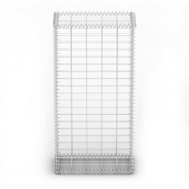 Gabion Basket Wall with Lids Galvanized Wire 100 x 50 x 30 cm[3/4]
