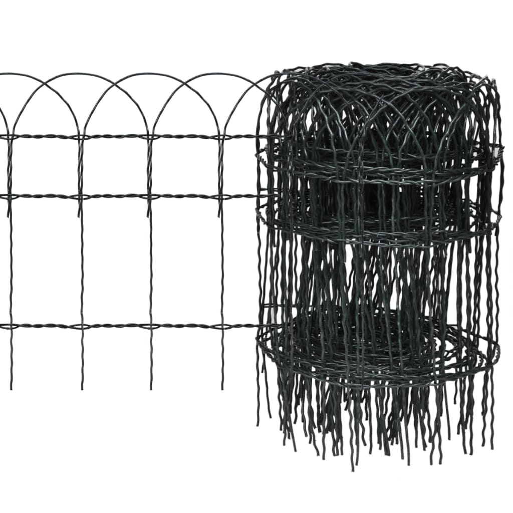 vidaxl-expandable-garden-lawn-edging-border-fence-10-x-04-m