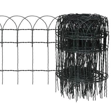 vidaXL Sodo tvora, 10x0,4 m, milteliniu būdu dengta geležis[1/3]