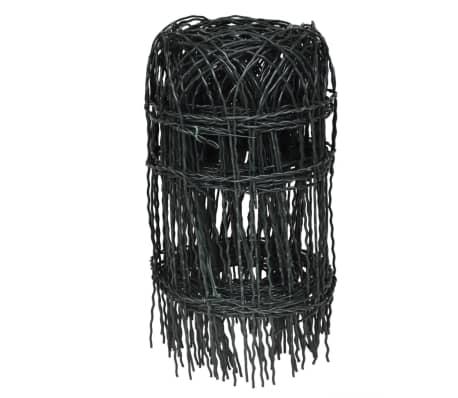 vidaXL Sodo tvora, 10x0,4 m, milteliniu būdu dengta geležis[2/3]