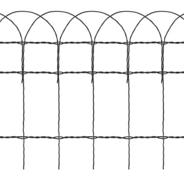 vidaXL Sodo tvora, 10x0,4 m, milteliniu būdu dengta geležis[3/3]