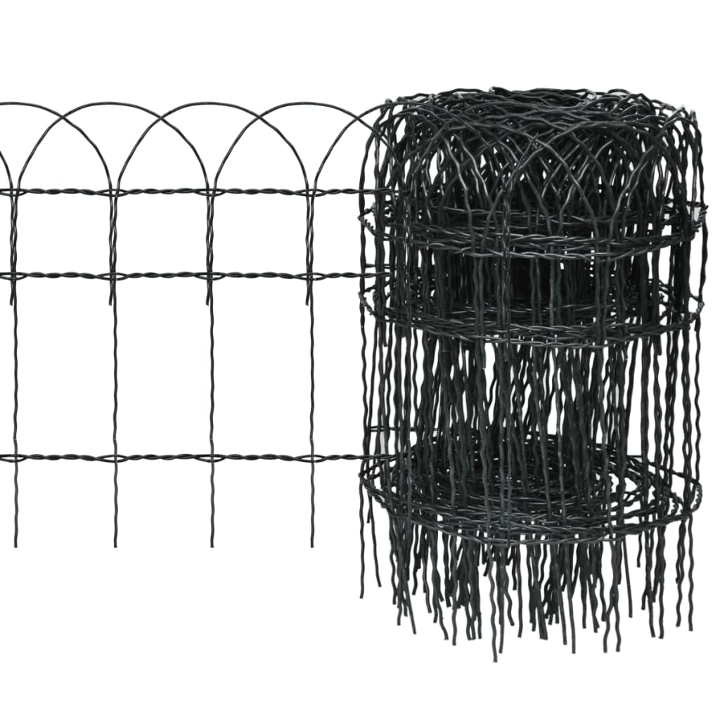 vidaxl-expandable-garden-lawn-edging-border-fence-25-x-04-m