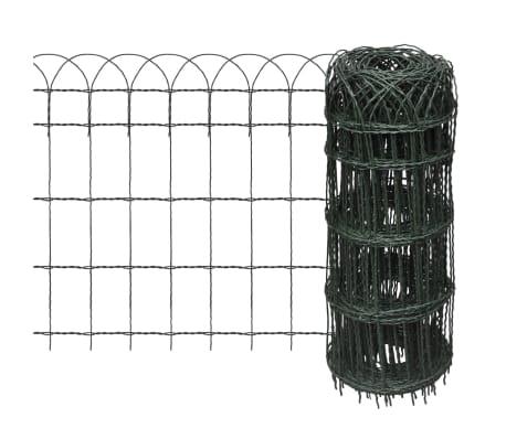 vidaXL Sodo tvora, 10x0,65 m, milteliniu būdu dengta geležis[1/3]