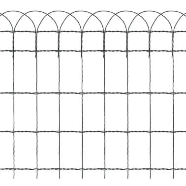 vidaXL Sodo tvora, 10x0,65 m, milteliniu būdu dengta geležis[3/3]