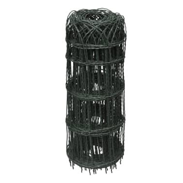 vidaXL Sodo tvora, 25x0,65 m, milteliniu būdu dengta geležis[2/3]