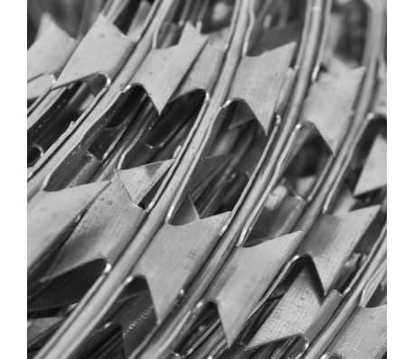vidaXL natotråd galvaniseret stål rulle 60 m[4/4]