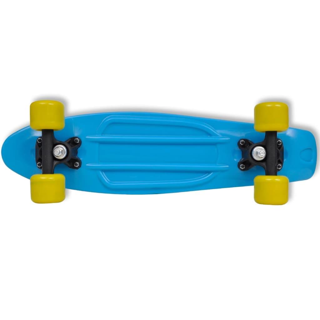 48010da96f5 vidaXL Retro rula sinise pealse ja kollaste ratastega