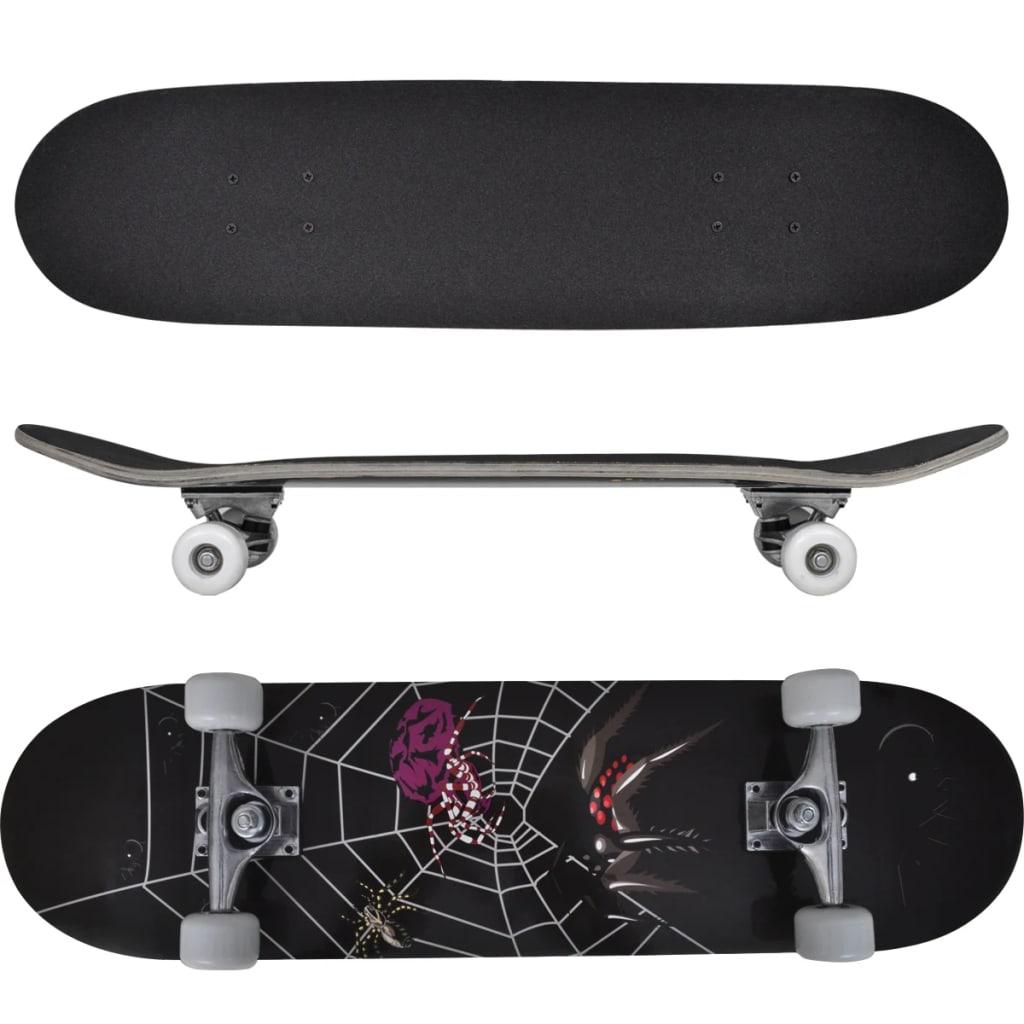 Ovaal skateboard met spin design 9-laags esdoorn hout 8