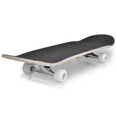 """vidaXL Ovaal skateboard met spinnen design 9-laags esdoorn hout 8""""[3/7]"""