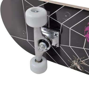 """vidaXL Ovaal skateboard met spinnen design 9-laags esdoorn hout 8""""[7/7]"""