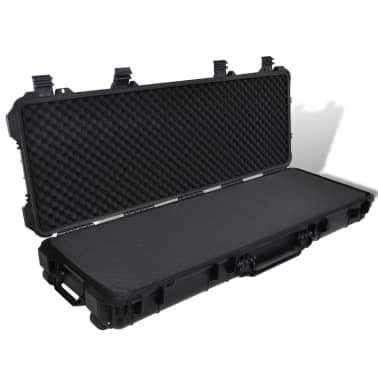 Waterproof Plastic Molded Gun Case Trolly Carry Case[1/9]